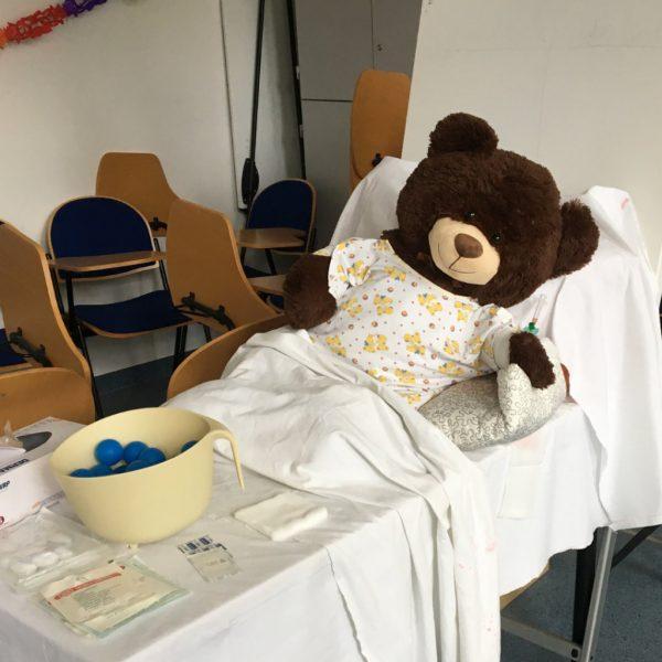 Herzensangelegenheit: Das Teddybärkrankenhaus an der Uni Leipzig